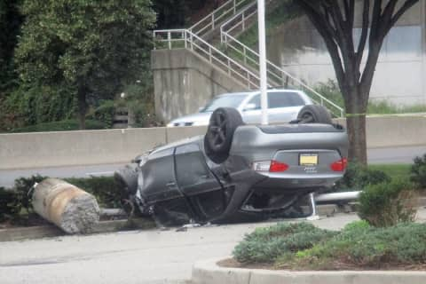 UPDATE: DWI Driver Arrested In Route 4 Rollover Crash