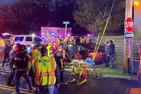 Three Injured, One Critically, In Crash That Closes Route 17