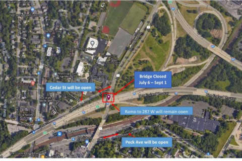 Boston Post Road Bridge Across I-95 To Close For Summer In Westchester