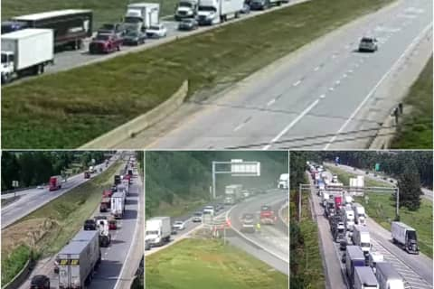 DEVELOPING: Multi-Vehicle Crash Closes Part Of Interstate 81 In Cumberland County