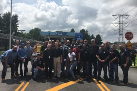 46-Mile Motorcycle Ride Honors Fallen Westchester Officers
