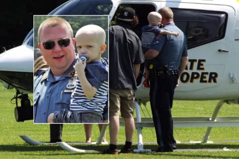 WARM YOUR HEART: Bergen Boy With Stage 4 Cancer Surprised By NJ State Police Chopper
