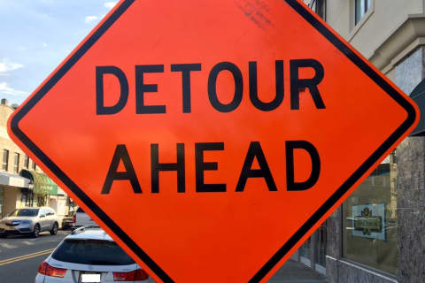 DETOUR: Construction Closes Route 422 Lanes In Montgomery, Chester Counties