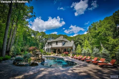 New Mansion On North Jersey's Market Has Its Own Private Oasis