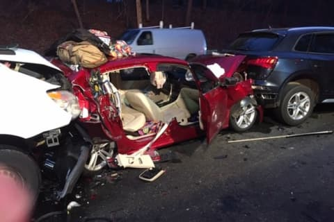 Merritt Parkway Stretch Reopens After Pileup Crash