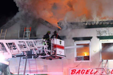 UPDATE: Multi-Alarm Fire Ravages Ridgewood Downtown