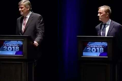 Second To Last Gubernatorial Debate Features Three Candidates