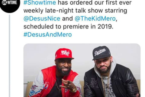 Showtime Gives Brand New Spot to Bergen County's Hilarious 'The Kid Mero'