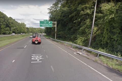 I-691 Lane Reopens Following Single-Vehicle Crash Down Embankment