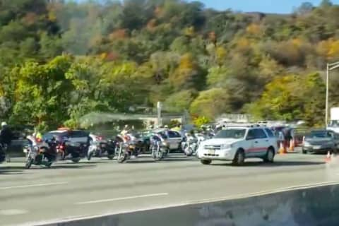 Crash Involving Fort Lee Motorcycle Officers Shuts Paterson Route 80 Ramp