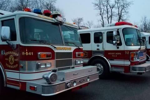 Truck Fire Evacuates Rockaway Township's Copeland Middle School
