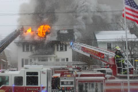 UPDATE: Mom, 7-Year-Old Son Dead In Nutley House Fire