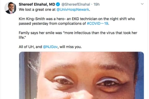 Murphy Mourns Newark Hospital Staffer Who Died Of Coronavirus