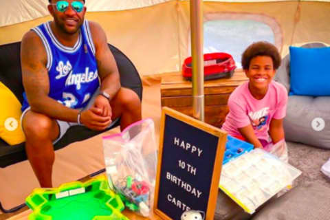 Alpine's CC Sabathia Throws Son Backyard Birthday Bash
