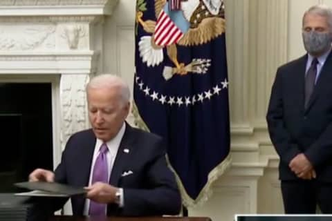 COVID-19: Biden Issues Orders On Masks, Schools, Travel, Saying 'This Is A Wartime Undertaking'