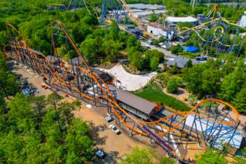 Six Flags' Jersey Devil Coaster: 'World's Tallest, Fastest, Longest' Finally Rolls