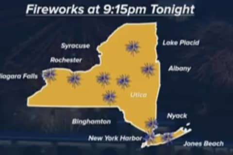 COVID-19: Hudson Valley Hosts Fireworks Show As NY Celebrates Reopening