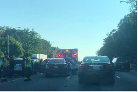 Multi-Vehicle I-95 Crash Snarls Traffic