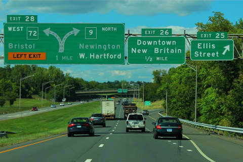Expect Delays: New Exit Numbers For CT Highways Going Up Now