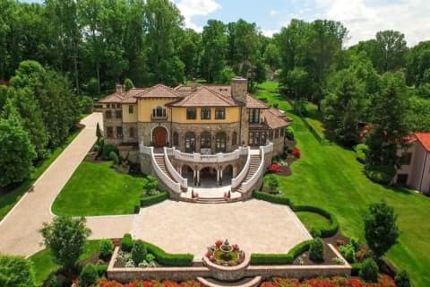 Warren Tuscan-Style Villa, A 'Dream' House, Up For Auction Later This Month