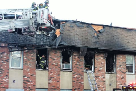Fire Ravages Haledon Apartment Building