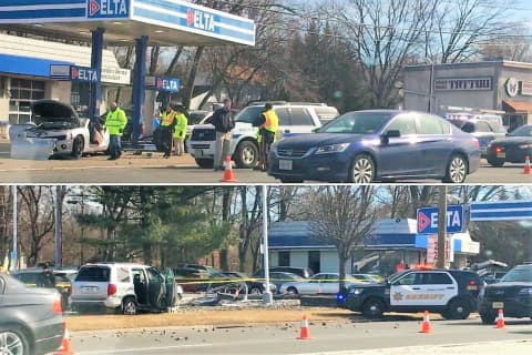 UPDATE: Drugged Driver In Route 23 Gas Station Crash Kills Dad, Teen Son, Attendant