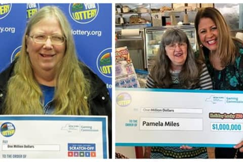 Mamaroneck Woman Is $1M Scratch-Off Ticket Winner