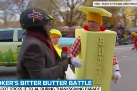 Pastor Has Bitter Butter Battle With Al Roker In Thanksgiving Day Parade