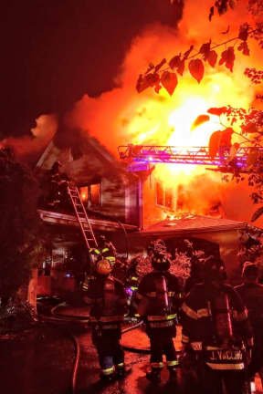 Fire Severely Damages Westchester Home