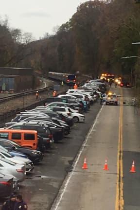 Metro-North Trains Back Running, Roadway Still Closed Following Crash