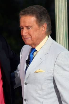TV Legend Regis Philbin Dies