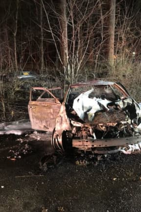 Man Charged With DWI After Fiery Route 45 Crash In Rockland