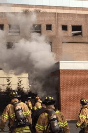 Pair Of Simultaneous Fires Break Out At Buildings In Stamford