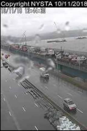 New TZB Span Reopens After Jackknifed Tractor-Trailer Crash