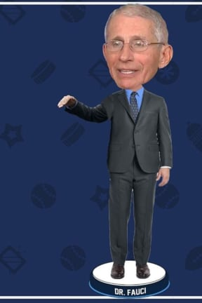 COVID-19: Dr. Anthony Fauci Bobbleheads Pop Up To Benefit American Hospital Association