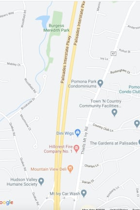 Body Found On Palisades Parkway