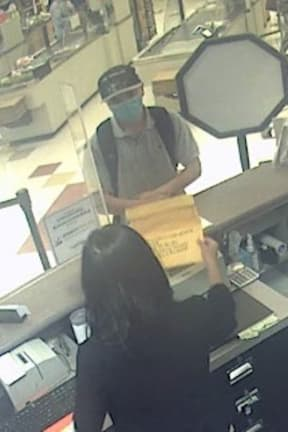 Alert Issued For Man Wanted For Robbing Bank Inside Stop & Shop In Area