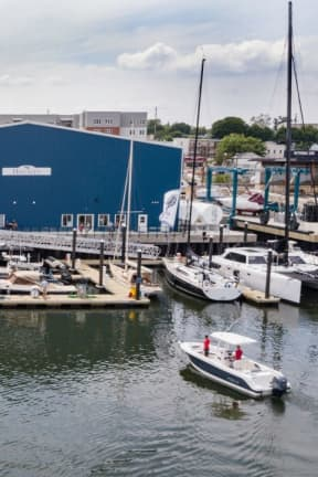 $1.3 Million Yacht Crushed By Runaway Barge In Stamford Harbor