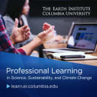 Earth Institute At Columbia University Launches Professional Learning Program