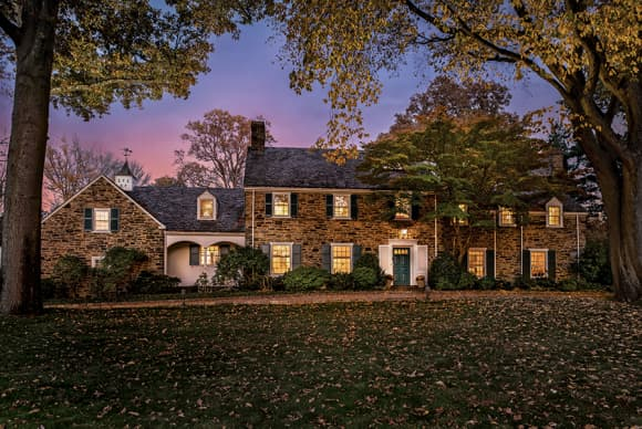 At home in a Scarsdale classic
