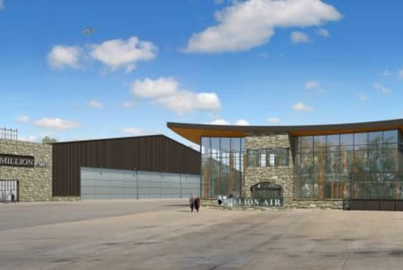 Million Air breaks ground at Westchester County Airport