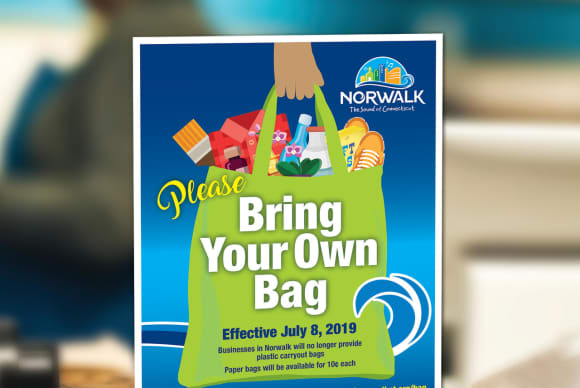 Around The Towns: Norwalk Bag Ban, Lamont's New Message From Top, Danbury Mayor Race Ramps Up