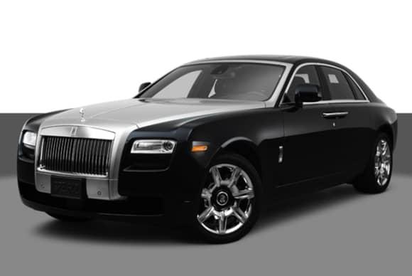 Rolls-Royce Ghost haunts Mount Vernon repair shop