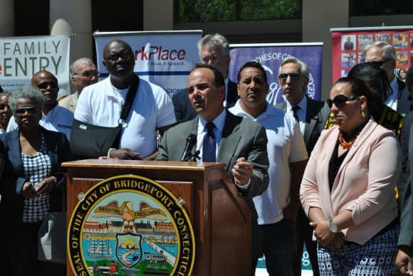 'Let's Fix Them,' Bridgeport Mayor Says To City Schools, Housing Authority