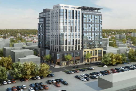 Mixed-use high rise proposed across from Port Chester train station