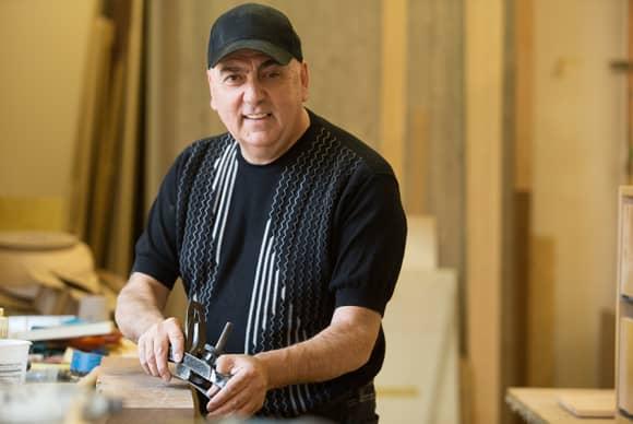 Marco Zuccaretti, European master craftsmen