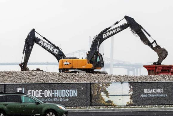Judge says AMEC and Teamsters must arbitrate driver dispute at Edge-on-Hudson project