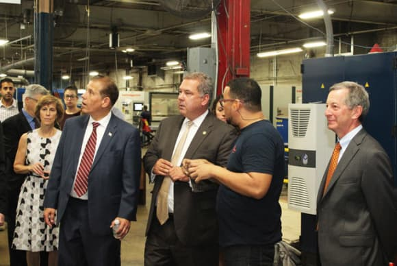 Specialty manufacturer ASI Group celebrates renovated Yonkers HQ