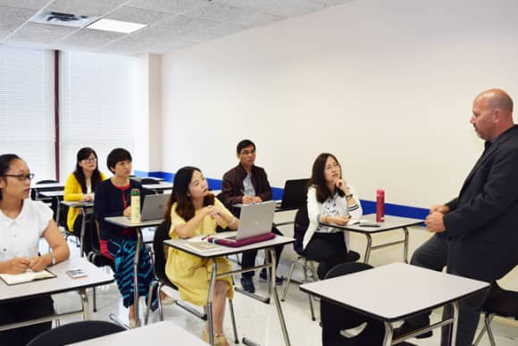 From China to White Plains, Berkeley College shares American teaching methods