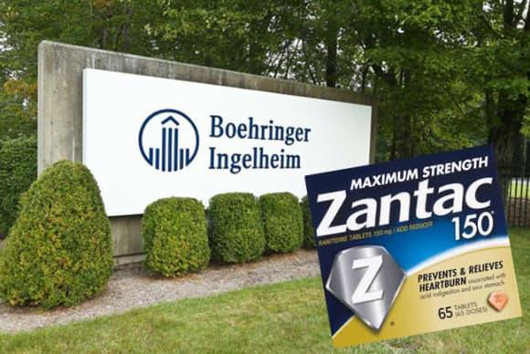 Boehringer Ingelheim, Sanofi targeted in class-action suit over Zantac